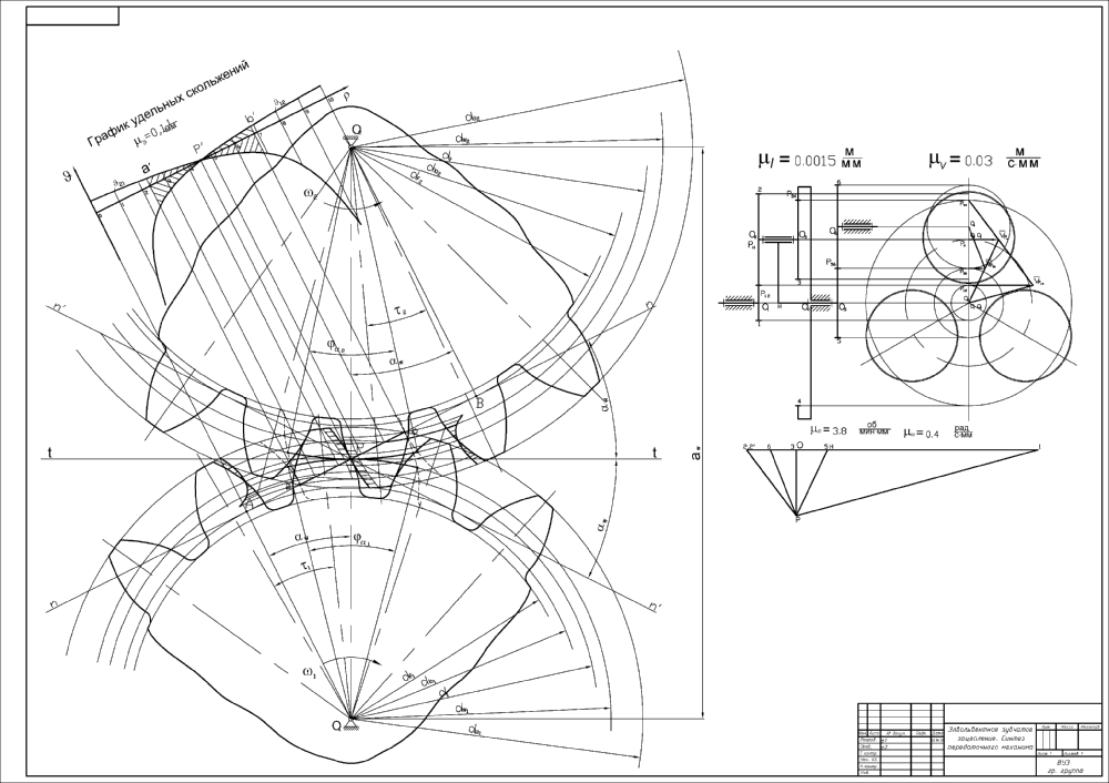 Теория механизмов и машин курсовая на заказ контрольные  теория машин и механизмов ДГМА синтез зубчатого передаточного механизма short